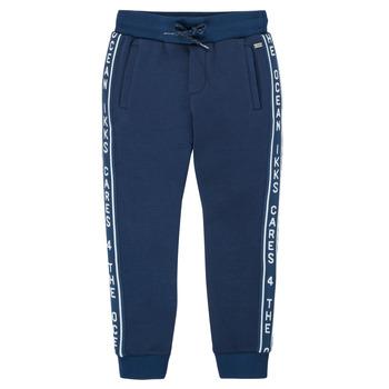 Kleidung Jungen Jogginghosen Ikks XS23003-48-J Marineblau