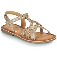 Schuhe Mädchen Sandalen / Sandaletten Mod'8 CANISA Golden
