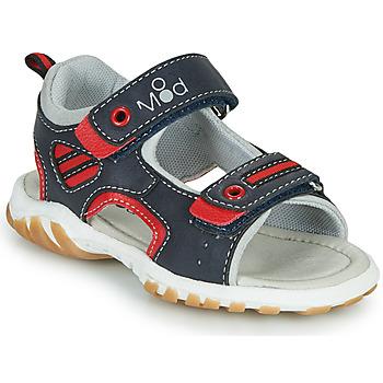 Schuhe Jungen Sandalen / Sandaletten Mod'8 TOPPY Marineblau / Rot