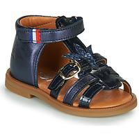 Schuhe Mädchen Sandalen / Sandaletten GBB PAULETTE Blau