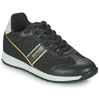 Chaussures Garçon Baskets basses BOSS TRAMMI