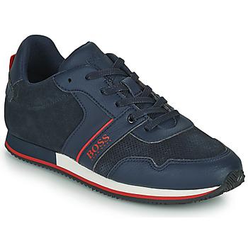 Schuhe Jungen Sneaker Low BOSS HOLLA Blau
