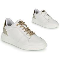 Schuhe Mädchen Sneaker Low BOSS NILLA Weiß / Golden