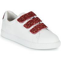 Schuhe Damen Sneaker Low Bons baisers de Paname EDITH BACK LIPS Weiß