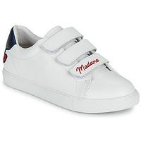 Schuhe Damen Sneaker Low Bons baisers de Paname EDITH MADAME MONSIEUR Weiß