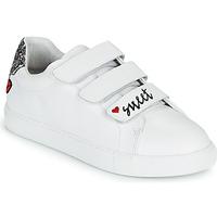 Schuhe Damen Sneaker Low Bons baisers de Paname EDITH SWEET HEART Weiß