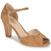 Schuhe Damen Sandalen / Sandaletten Betty London ORAD Kamel