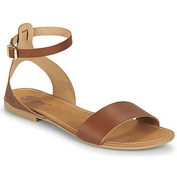 Schuhe Damen Sandalen / Sandaletten Betty London GIMY Kamel