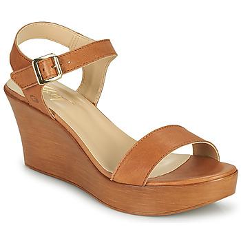 Schuhe Damen Sandalen / Sandaletten Betty London CHARLOTA Kamel