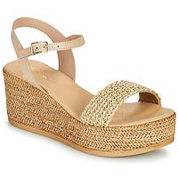 Schuhe Damen Sandalen / Sandaletten Betty London OFINI Beige