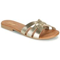 Schuhe Damen Pantoffel Betty London OIGILE Golden