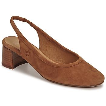Schuhe Damen Pumps Betty London OMMINE Kognac