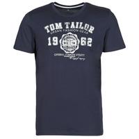 Kleidung Herren T-Shirts Tom Tailor 1008637-10690 Marineblau