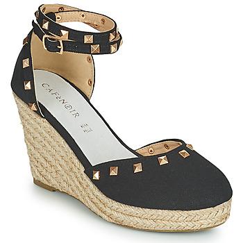 Chaussures Femme Sandales et Nu-pieds Café Noir NOEL