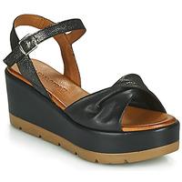 Chaussures Femme Sandales et Nu-pieds Café Noir HOLISTA