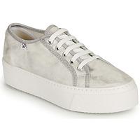 Schuhe Damen Sneaker Low Yurban SUPERTELA Silber
