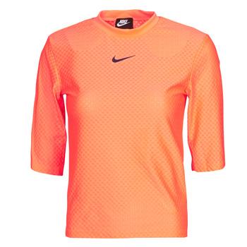 Vêtements Femme T-shirts manches courtes Nike NSICN CLSH TOP SS MESH
