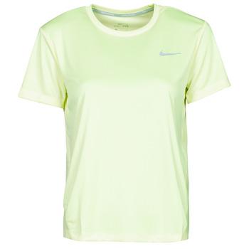 Vêtements Femme T-shirts manches courtes Nike MILER TOP SS