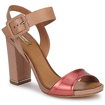 Schuhe Damen Sandalen / Sandaletten Eva Turner  Bronze / Rot