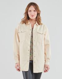 Kleidung Damen Jacken / Blazers Vila VIDERESSA Beige