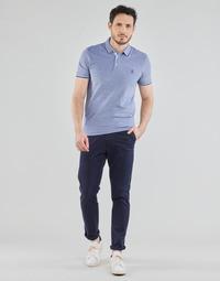 Kleidung Herren Chinohosen Selected SLHSLIM-MILES FLEX Marineblau