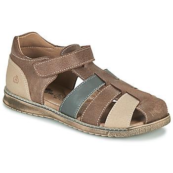 Schuhe Jungen Sandalen / Sandaletten Citrouille et Compagnie FRINOUI Braun,