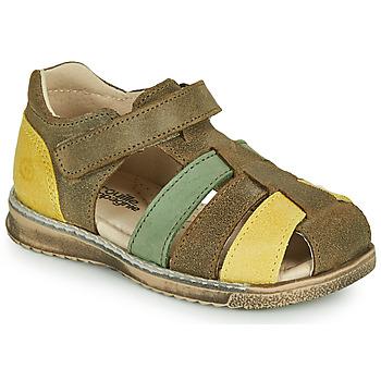 Schuhe Jungen Sandalen / Sandaletten Citrouille et Compagnie FRINOUI Khaki