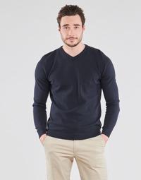 Kleidung Herren Pullover Jack & Jones JJEBASIC Marineblau