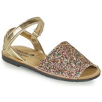 Schuhe Mädchen Sandalen / Sandaletten Citrouille et Compagnie SQUOUBEL Bunt
