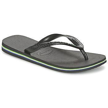 Chaussures Tongs Havaianas BRASIL Noir