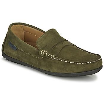Schuhe Herren Slipper Christian Pellet Cador Khaki