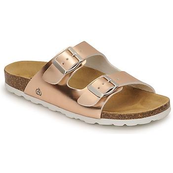 Schuhe Mädchen Pantoffel Citrouille et Compagnie MISTINGUETTE Bronze