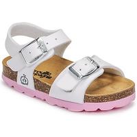 Schuhe Mädchen Sandalen / Sandaletten Citrouille et Compagnie RELUNE Weiß
