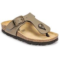 Schuhe Jungen Pantoffel Citrouille et Compagnie OKOKO Khaki