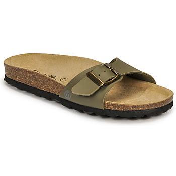 Schuhe Jungen Pantoffel Citrouille et Compagnie OKIKOU Khaki
