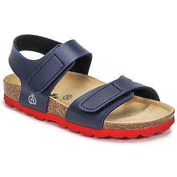 Schuhe Jungen Sandalen / Sandaletten Citrouille et Compagnie BELLI JOE Marineblau / Rot