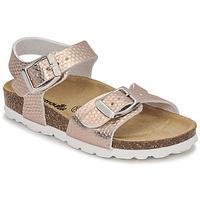 Schuhe Mädchen Sandalen / Sandaletten Citrouille et Compagnie RELUNE Bronze
