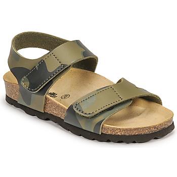 Schuhe Jungen Sandalen / Sandaletten Citrouille et Compagnie BELLI JOE Tarnmuster
