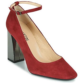 Schuhe Damen Pumps JB Martin XEBRA Rot
