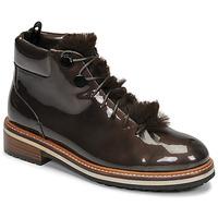 Schuhe Damen Boots JB Martin BRILLE Kakao