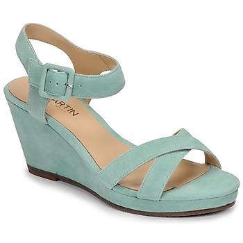 Schuhe Damen Sandalen / Sandaletten JB Martin QUERIDA Azurblau
