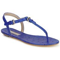 Scarpe Donna Sandali Michael Kors FOULARD Blu