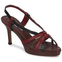Schuhe Damen Sandalen / Sandaletten Stéphane Kelian PRISCILLE Braun, / Bordeaux