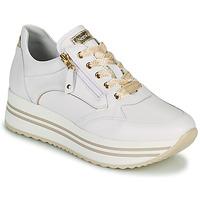 Schuhe Damen Sneaker Low NeroGiardini DAKOTA Weiß