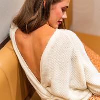 Kleidung Damen Pullover Céleste COMETE Beige