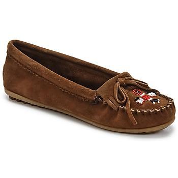 Chaussures Femme Mocassins Minnetonka THUNDERBIRD II Marron foncé