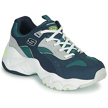 Schuhe Damen Sneaker Low Skechers D'LITES 3.0/OCEAN CLOUD Marineblau