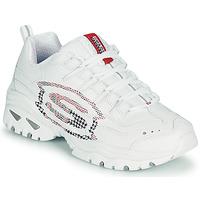 Schuhe Damen Sneaker Low Skechers ENERGY/SKY VISION Weiß