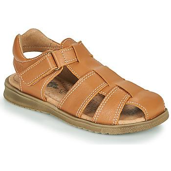 Schuhe Jungen Sandalen / Sandaletten Citrouille et Compagnie MELTOUNE Braun,