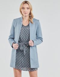Kleidung Damen Mäntel Only ONLSOHO Blau